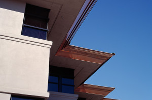 Southwest Centre Office Building - Sawtooth Detail