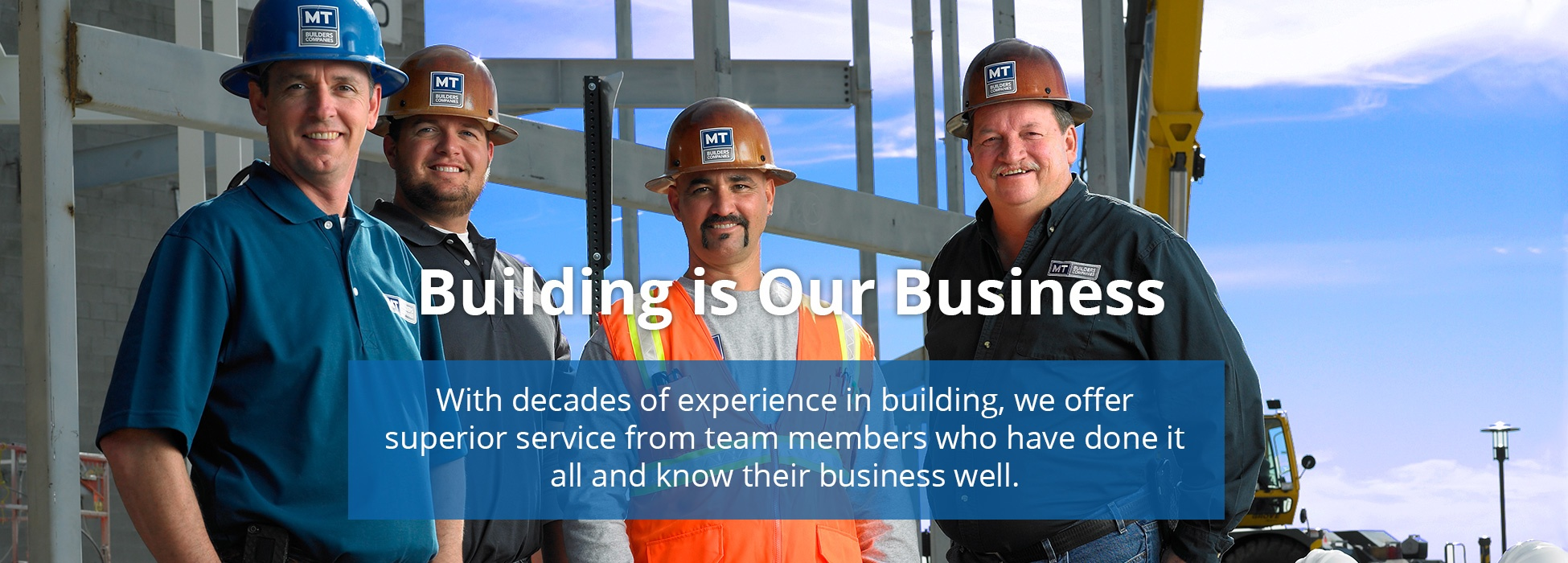 Building is Our Business